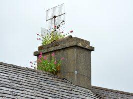 wysokość komina